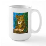 Leopard Tree Large Mug