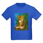 Leopard Tree Kids Dark T-Shirt