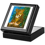 Leopard Tree Keepsake Box