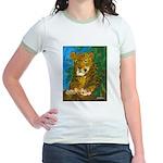 Leopard Tree Jr. Ringer T-Shirt