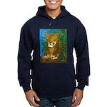 Leopard Tree Hoodie (dark)