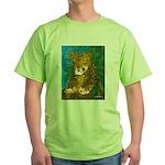 Leopard Tree Green T-Shirt