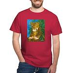 Leopard Tree Dark T-Shirt