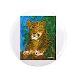 "Leopard Tree 3.5"" Button"