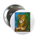 "Leopard Tree 2.25"" Button"
