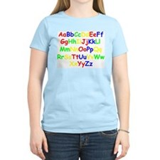 Alphabet in color T-Shirt