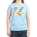 Alphabet in color Women's Light T-Shirt