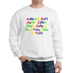 Alphabet in color Sweatshirt