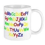 Alphabet in color Mug