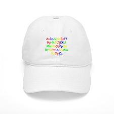 Alphabet in color Baseball Cap