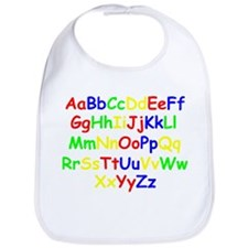 Alphabet in color Bib