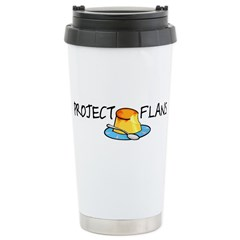 Project F.L.A.N.S. Stainless Steel Travel Mug