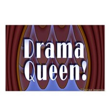 Drama Queen! Postcards (Package of 8)