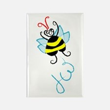 super bee Rectangle Magnet (100 pack)
