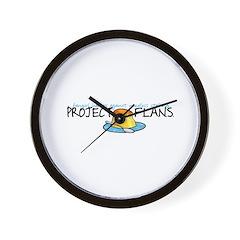 Project F.L.A.N.S. Full Logo Wall Clock