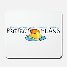 Project F.L.A.N.S. Full Logo Mousepad