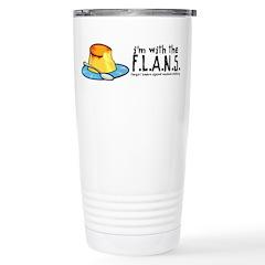 I'm with the F.L.A.N.S. Travel Mug