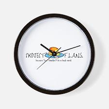Project F.L.A.N.S. Bad Word Wall Clock