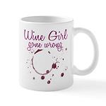 Wine Girl Gone Wrong Mug
