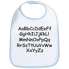 Alphabet Bib