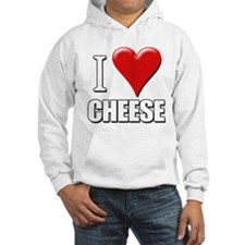 I Love (Heart) Cheese Hoodie