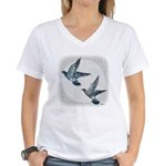 Sky Flight 2 Women's V-Neck T-Shirt
