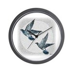 Sky Flight 2 Wall Clock