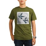 Sky Flight 2 Organic Men's T-Shirt (dark)