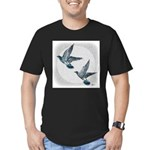 Sky Flight 2 Men's Fitted T-Shirt (dark)