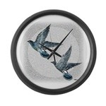Sky Flight 2 Large Wall Clock