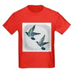 Sky Flight 2 Kids Dark T-Shirt