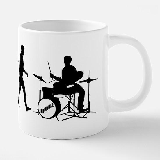 Drummers Drum 20 oz Ceramic Mega Mug