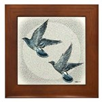 Sky Flight 2 Framed Tile