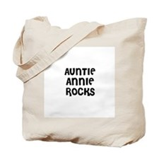 AUNTIE ANNIE ROCKS Tote Bag