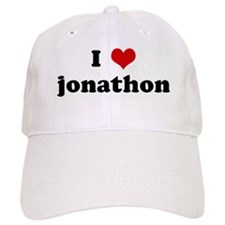I Love jonathon Baseball Baseball Cap