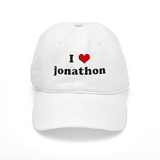 I Love jonathon Baseball Cap