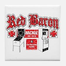 Red Baron Arcade Aurora CO Tile Coaster