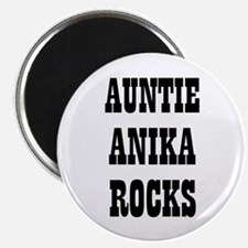 "AUNTIE ANIKA ROCKS 2.25"" Magnet (10 pack)"