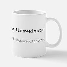 don't mess with my lineweight Mug