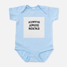 AUNTIE ANGIE ROCKS Infant Creeper