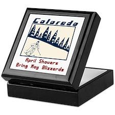 Vintage Colorado Keepsake Box