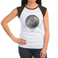Morgan Dollar Women's Cap Sleeve T-Shirt
