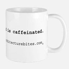 architect, my blood is caffei Mug
