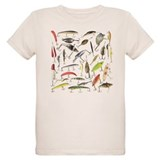 Fishing Organic Kids T-Shirt