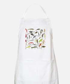 Lucky Lures BBQ Apron