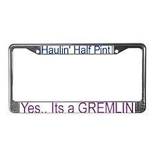 Cute Gremlin License Plate Frame