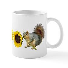 Squirrel Sunflower Mug