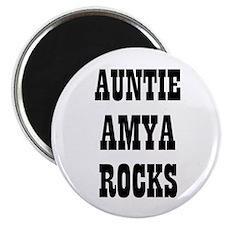 "AUNTIE AMYA ROCKS 2.25"" Magnet (10 pack)"