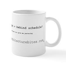 underdeveloped, overbudget, a Mug