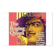 Raging Queen Postcards (Package of 8)
